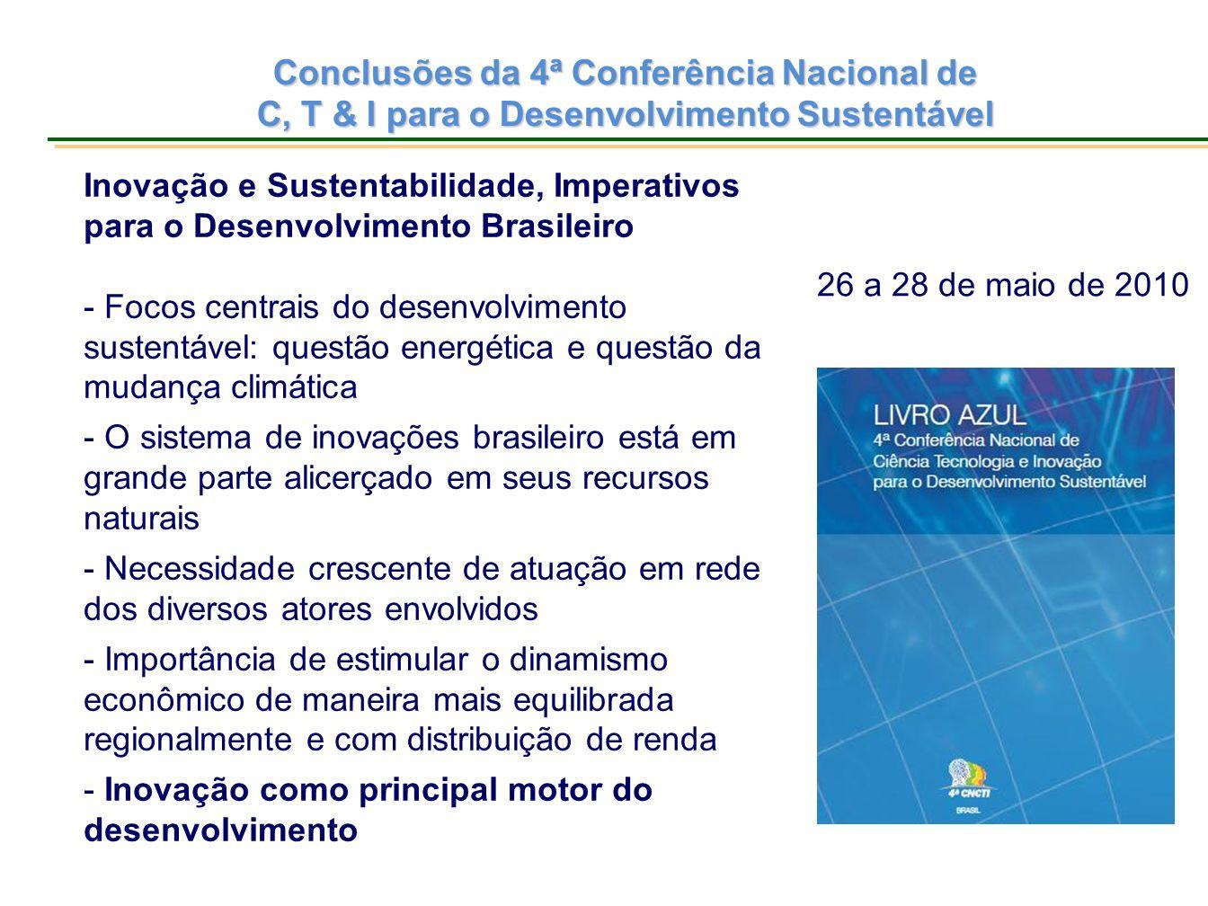 Conclusões da 4ª Conferência Nacional de