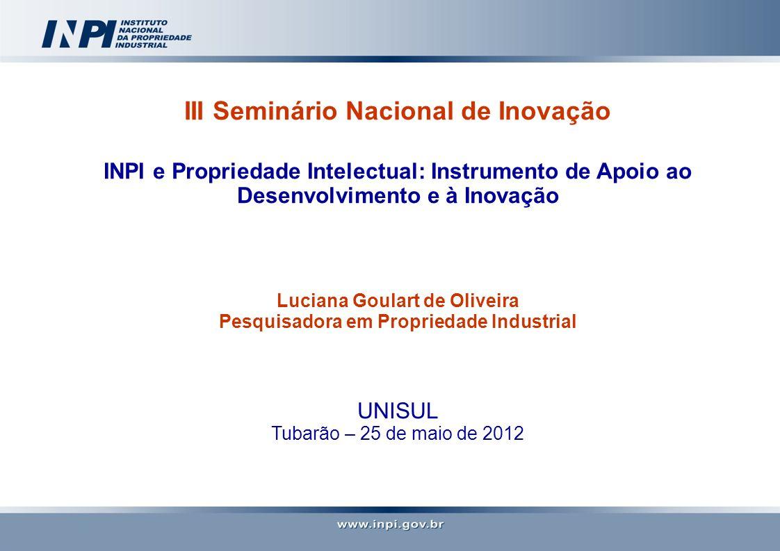 III Seminário Nacional de Inovação