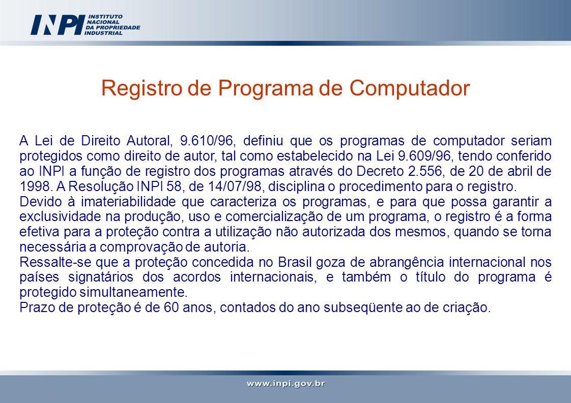Registro de Programa de Computador