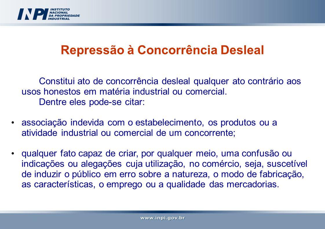 Repressão à Concorrência Desleal