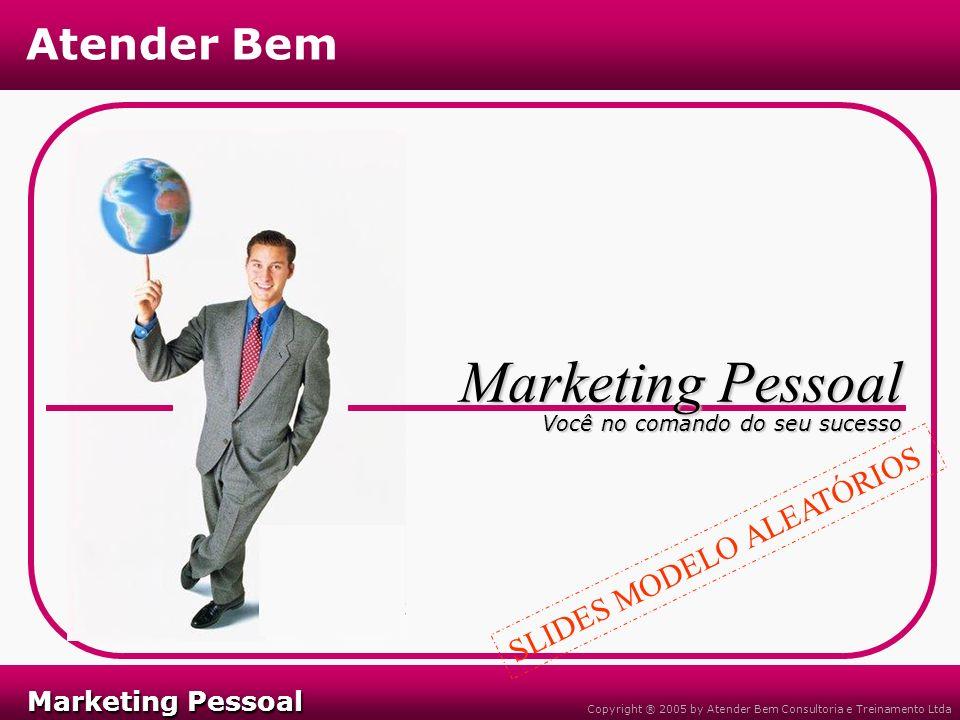 Marketing Pessoal SLIDES MODELO ALEATÓRIOS