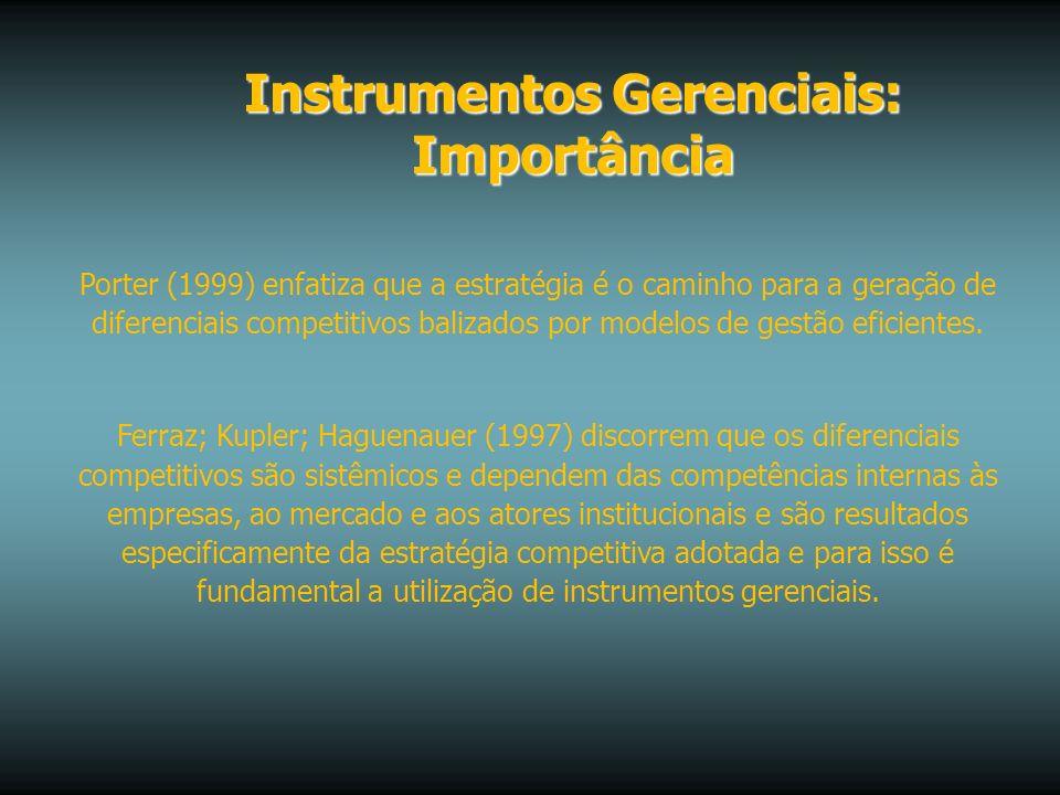 Instrumentos Gerenciais: Importância