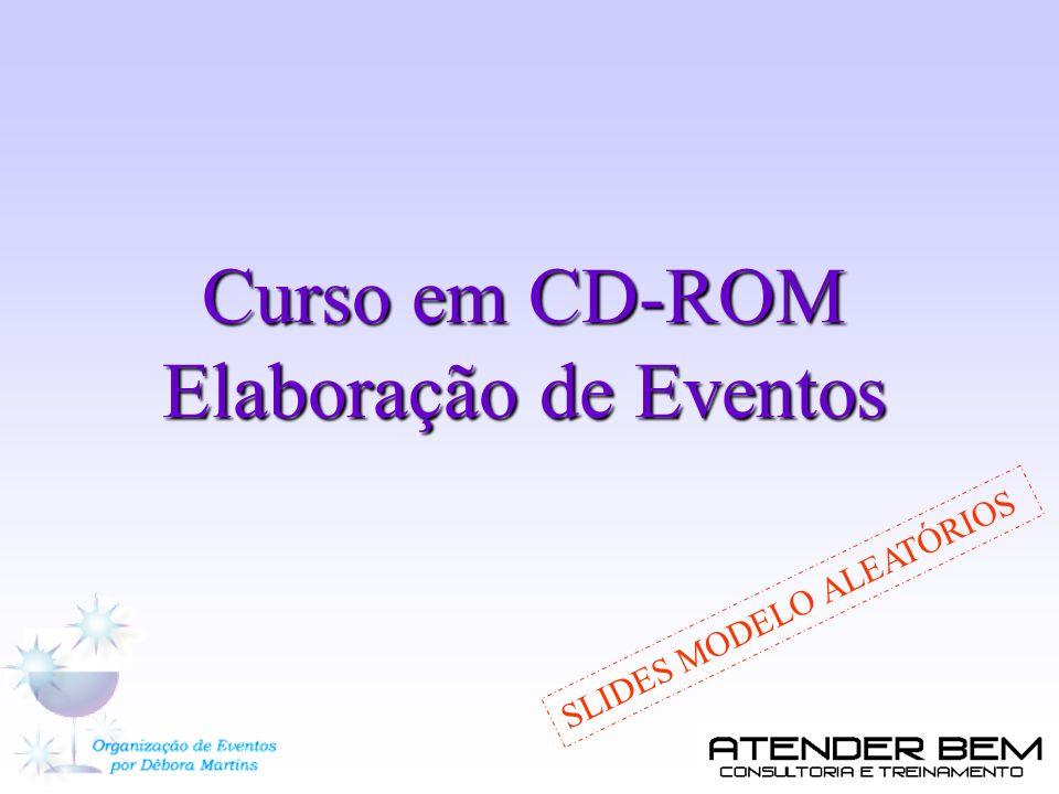 Curso em CD-ROM Elaboração de Eventos