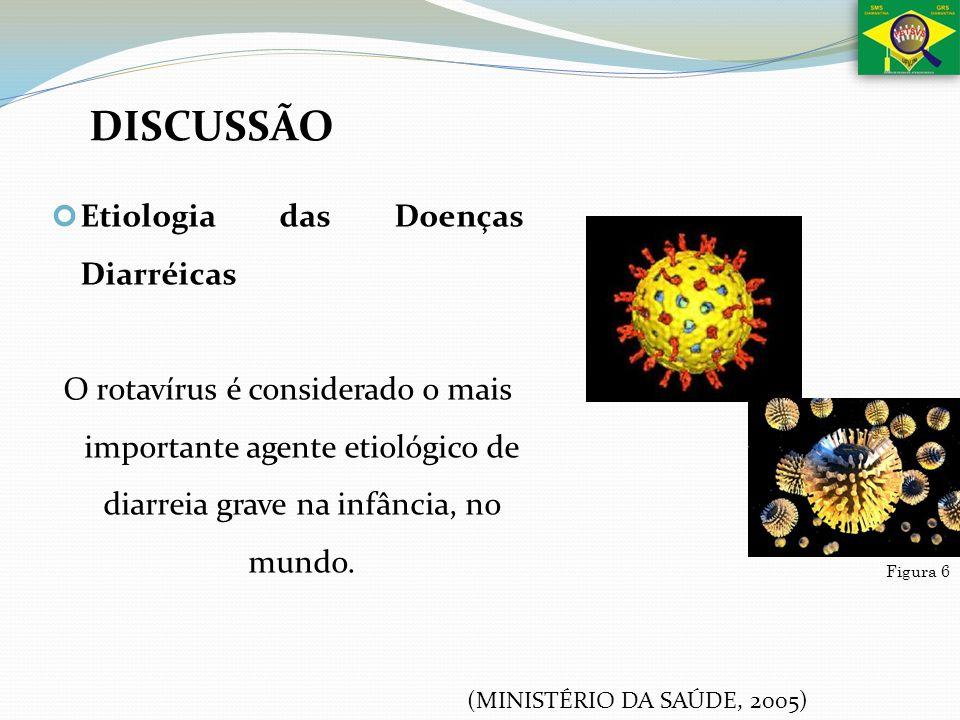 DISCUSSÃO Etiologia das Doenças Diarréicas