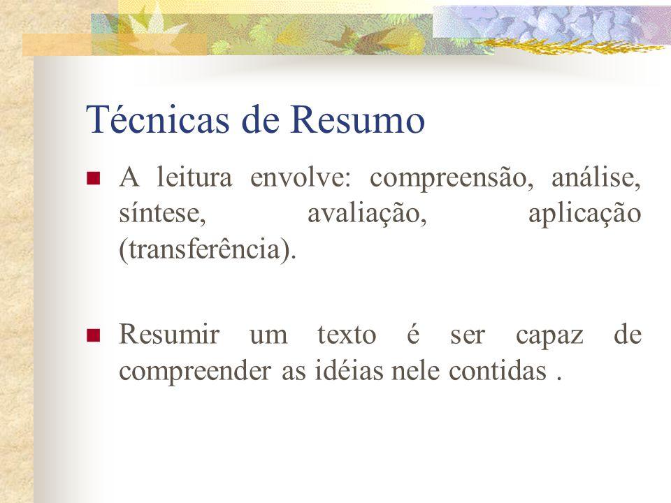 Técnicas de resumo de texto