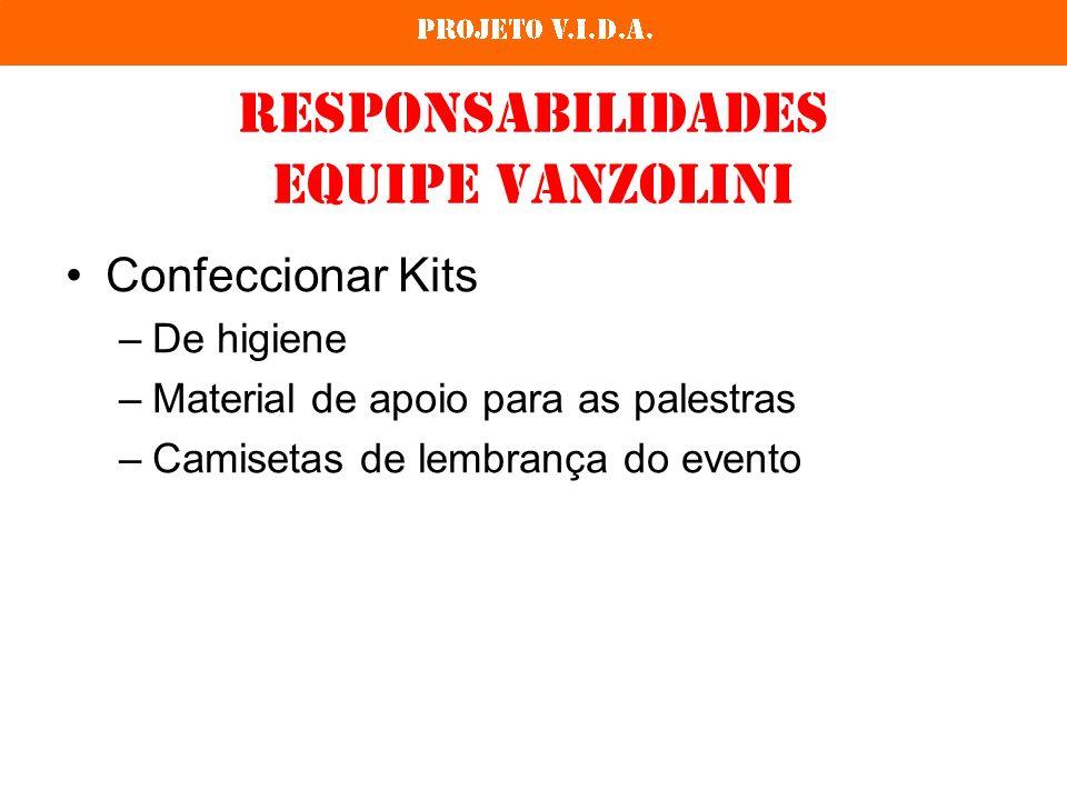 Responsabilidades Equipe Vanzolini