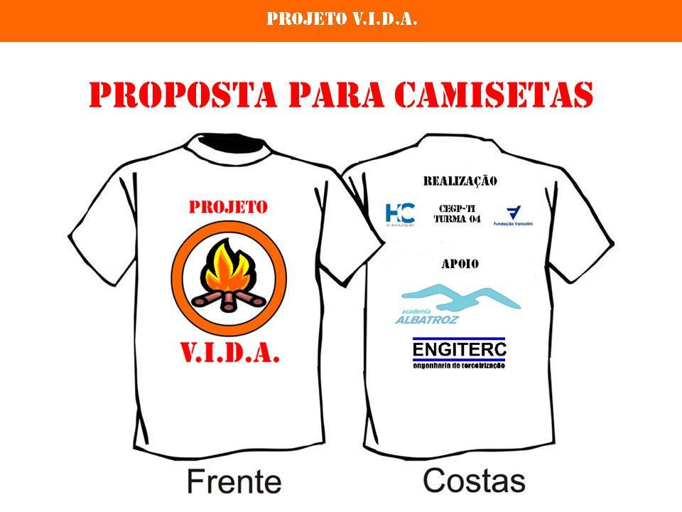 Proposta para Camisetas
