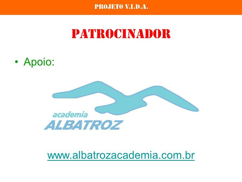 Patrocinador Apoio: www.albatrozacademia.com.br