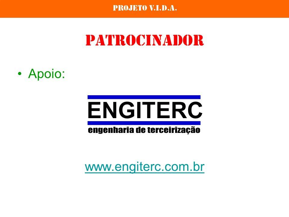 Patrocinador Apoio: www.engiterc.com.br