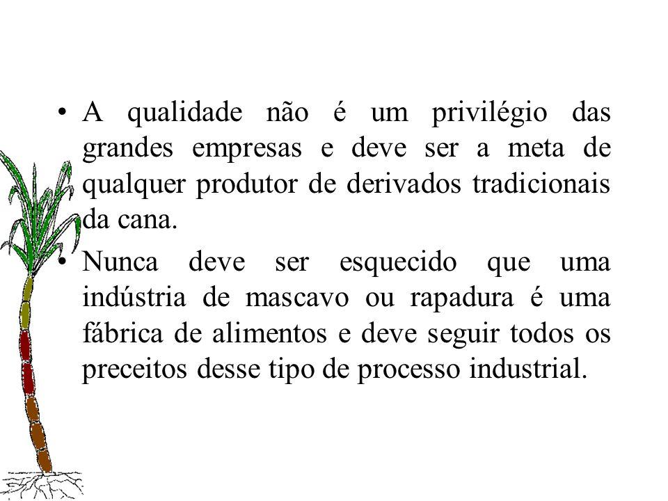 A qualidade não é um privilégio das grandes empresas e deve ser a meta de qualquer produtor de derivados tradicionais da cana.