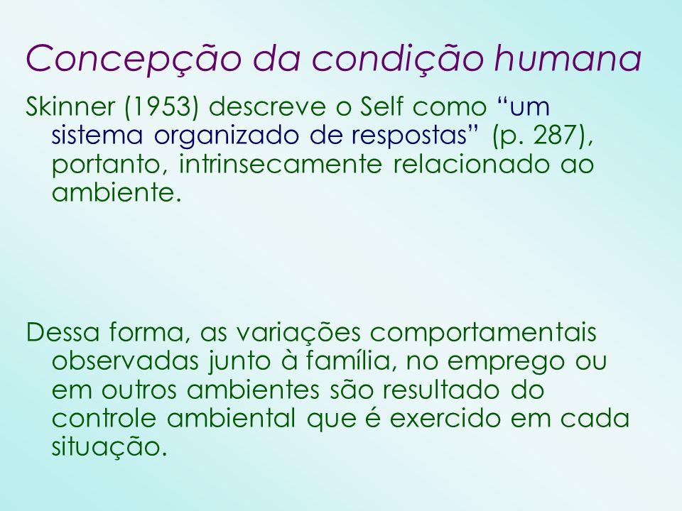 Concepção da condição humana