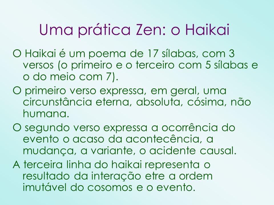 Uma prática Zen: o Haikai