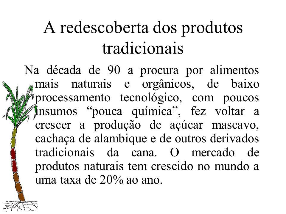 A redescoberta dos produtos tradicionais