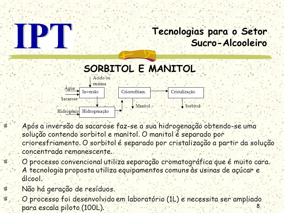 Tecnologias para o Setor Sucro-Alcooleiro