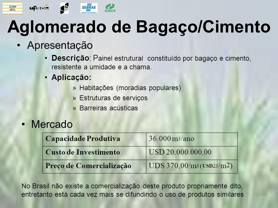 Aglomerado de Bagaço/Cimento