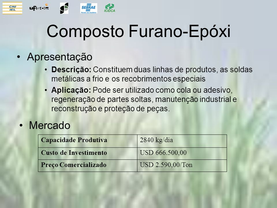 Composto Furano-Epóxi