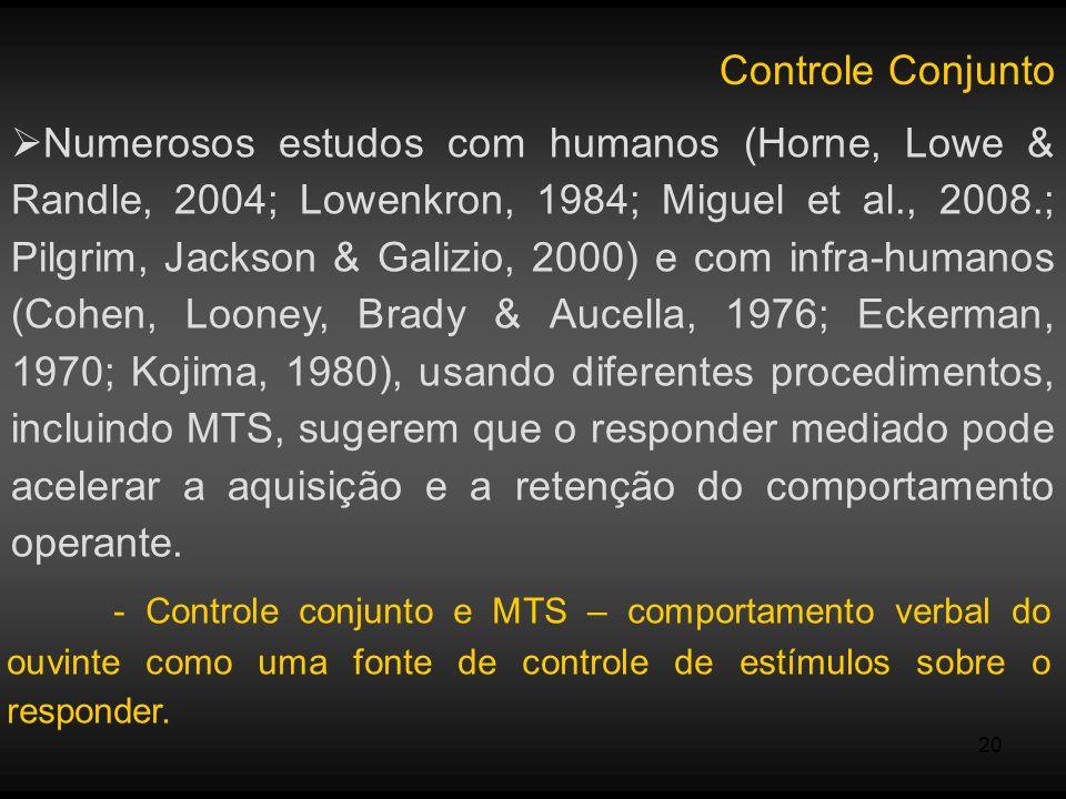 Controle Conjunto