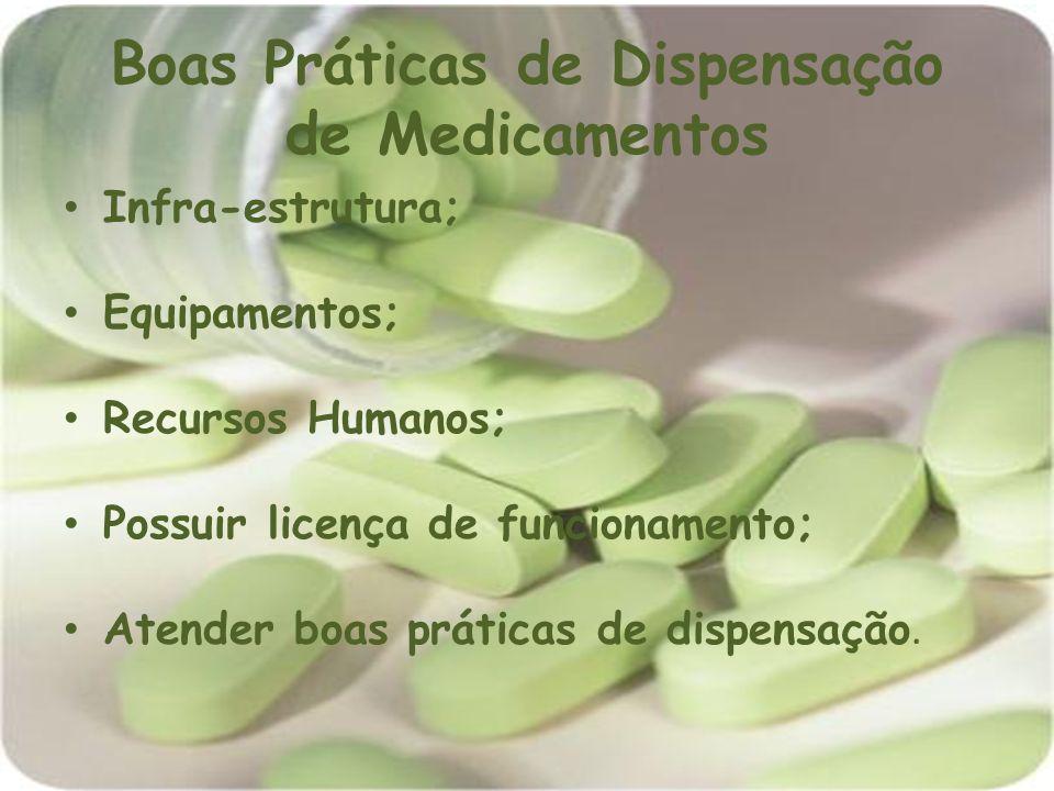 Boas Práticas de Dispensação de Medicamentos