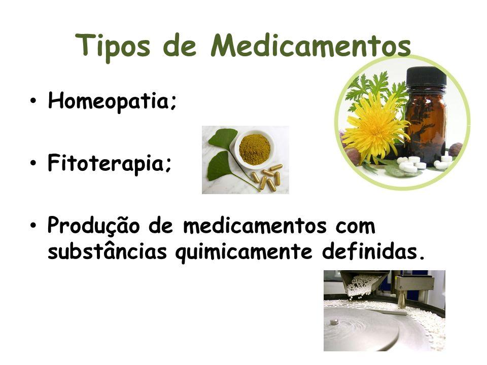 Tipos de Medicamentos Homeopatia; Fitoterapia;