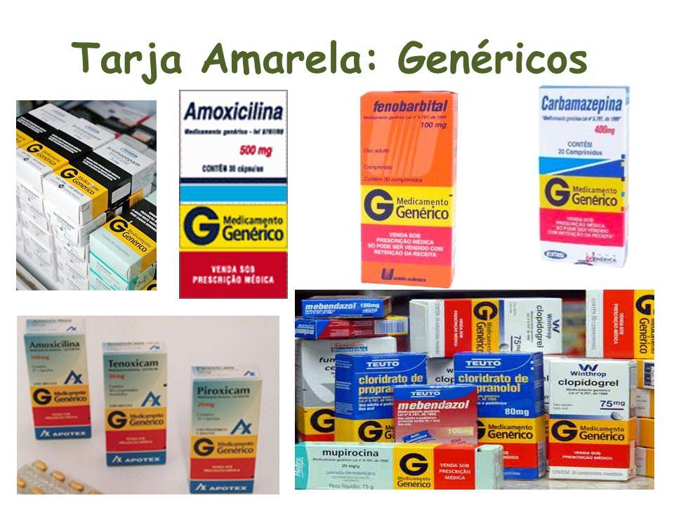 Tarja Amarela: Genéricos
