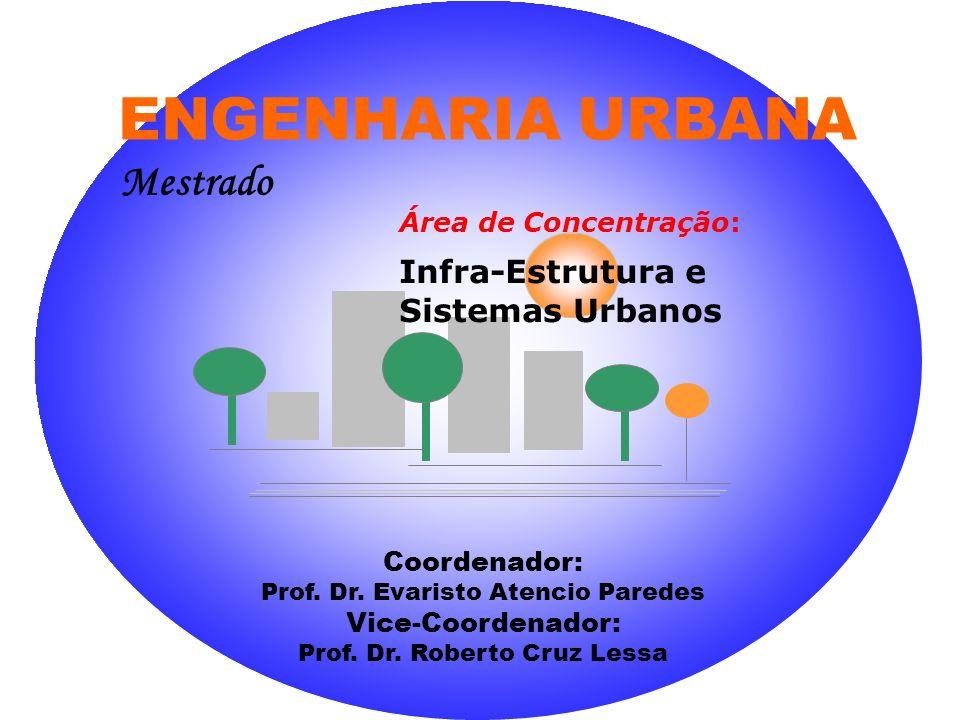 ENGENHARIA URBANA Mestrado Infra-Estrutura e Sistemas Urbanos