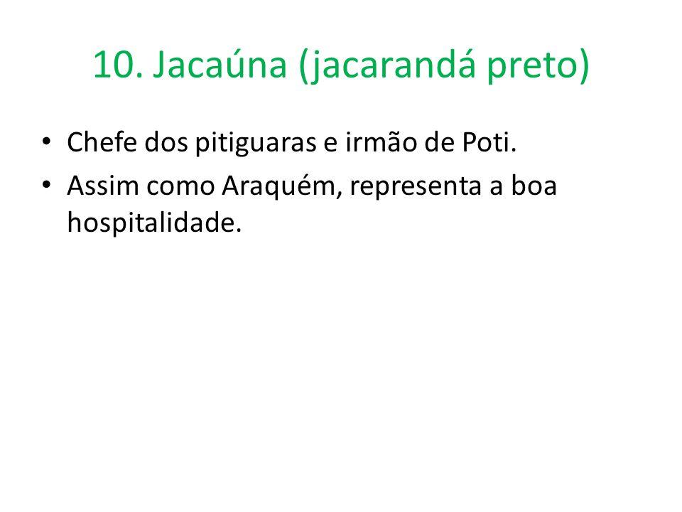 10. Jacaúna (jacarandá preto)