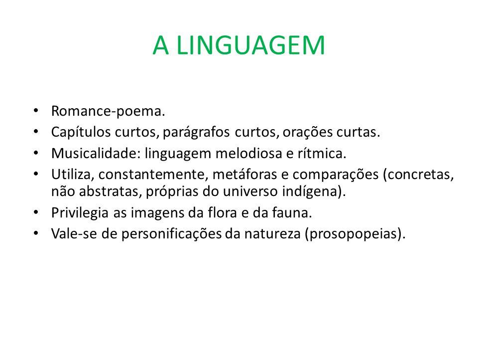 A LINGUAGEM Romance-poema.