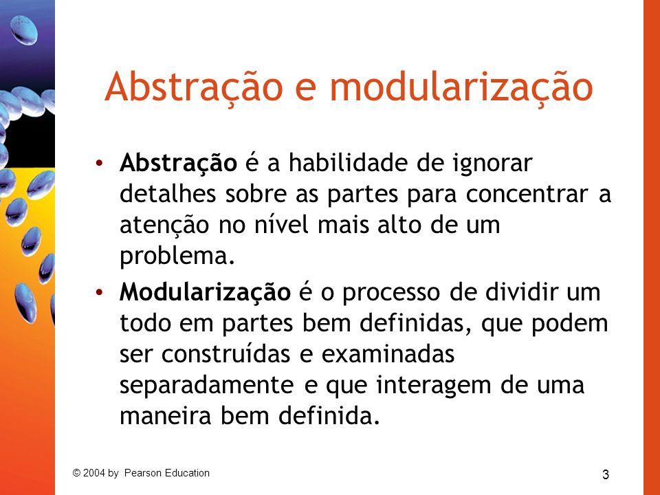 Abstração e modularização