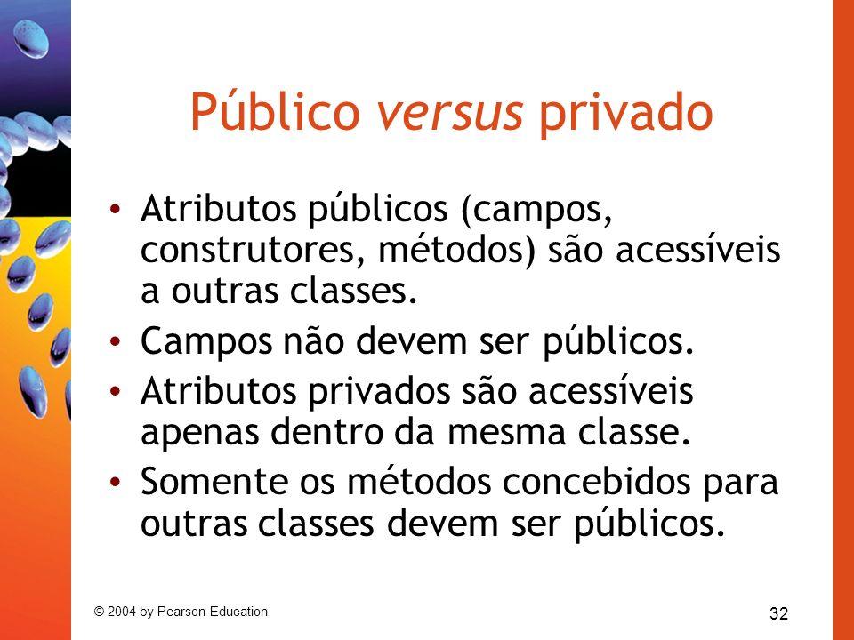 Público versus privado