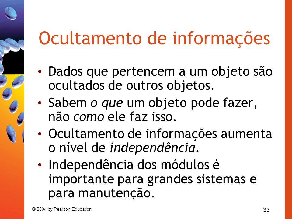 Ocultamento de informações