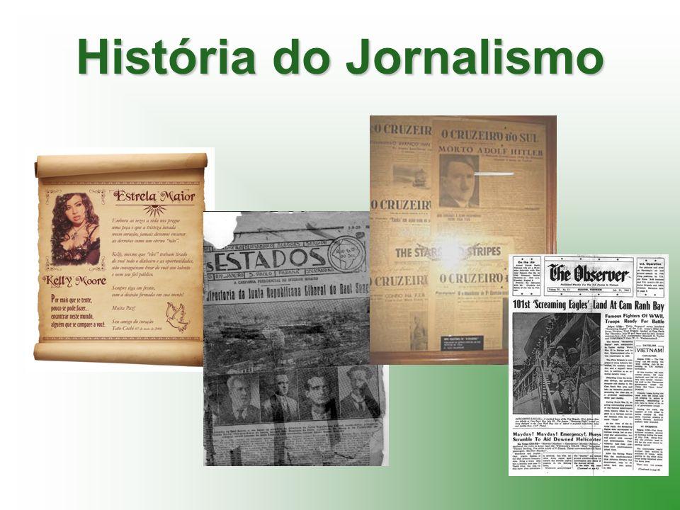 História do Jornalismo