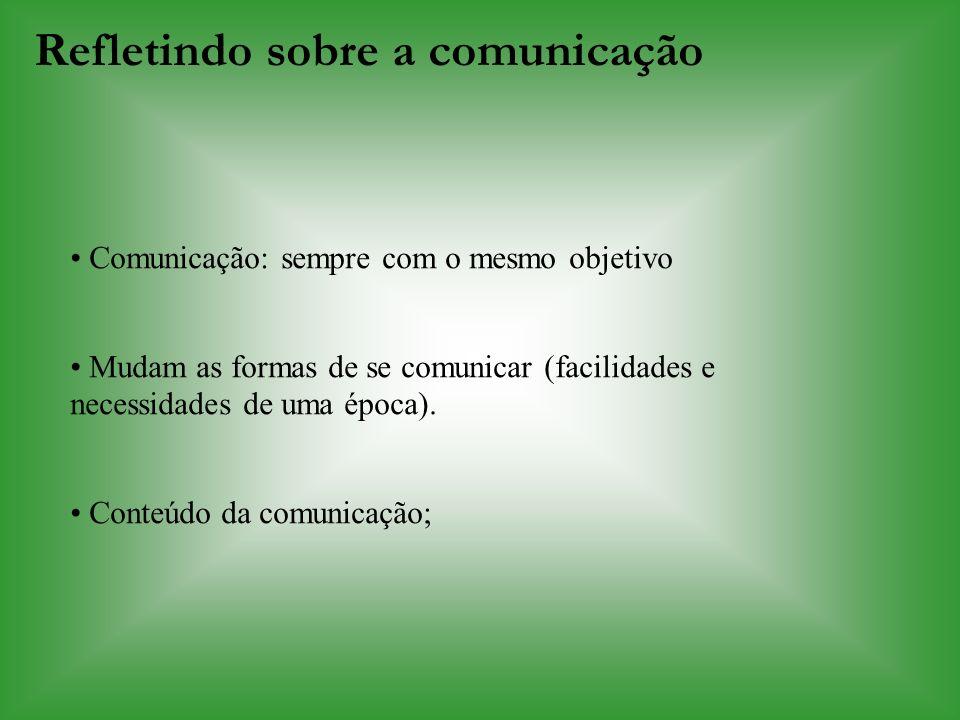 Refletindo sobre a comunicação
