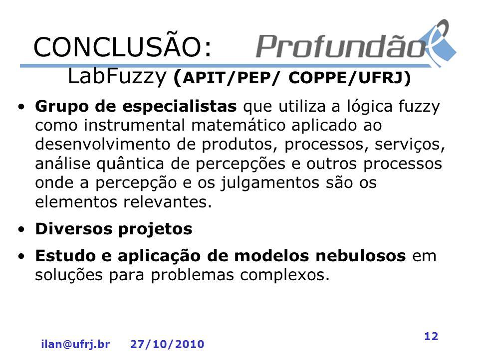 LabFuzzy (APIT/PEP/ COPPE/UFRJ)