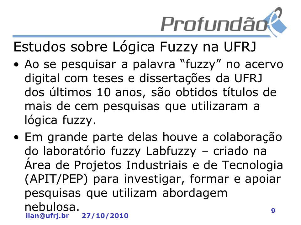 Estudos sobre Lógica Fuzzy na UFRJ