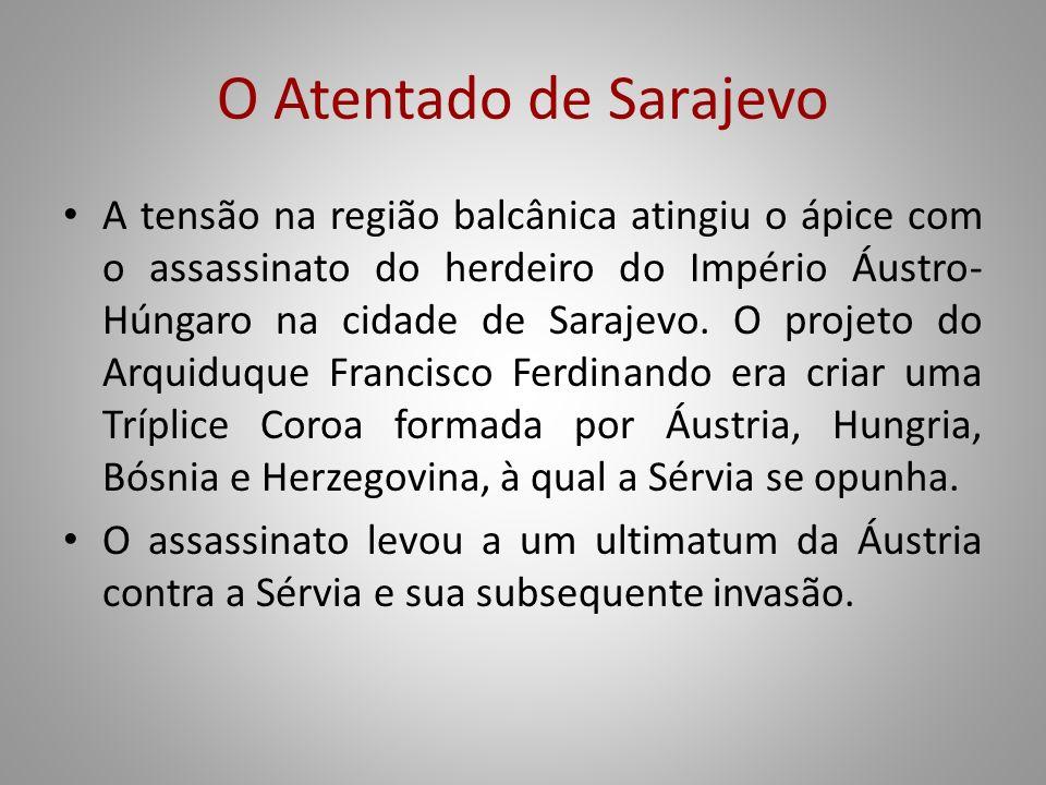 O Atentado de Sarajevo