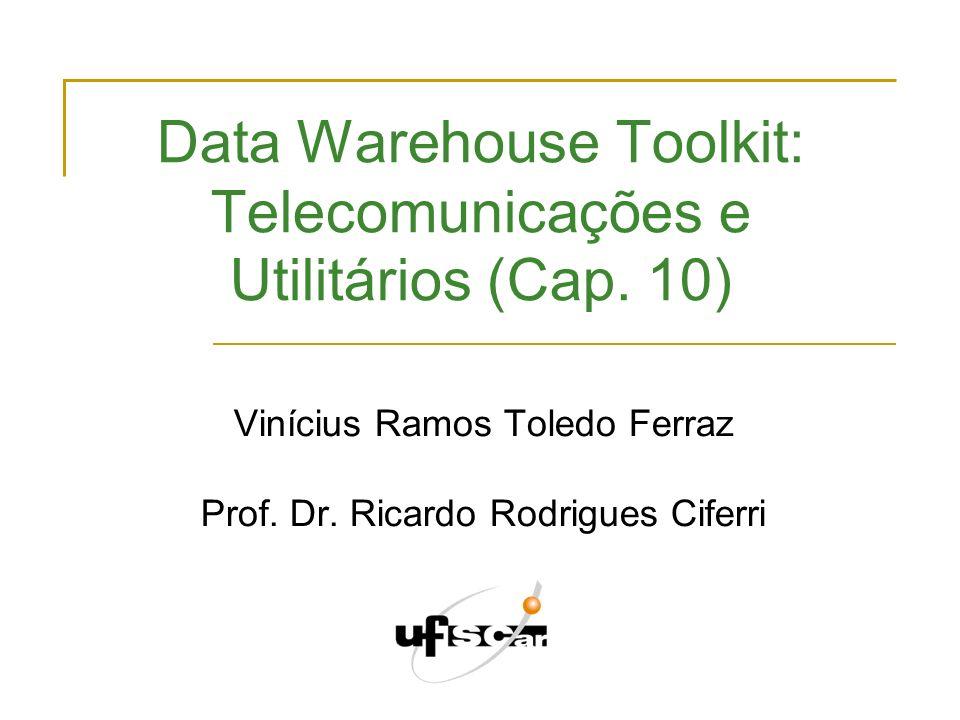 Data Warehouse Toolkit: Telecomunicações e Utilitários (Cap. 10)