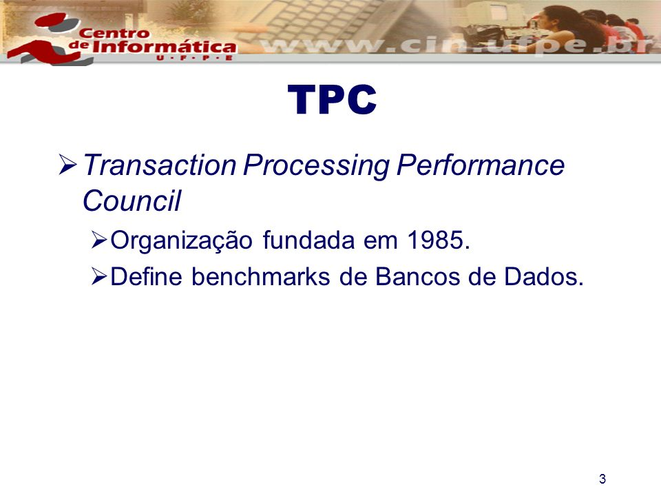 TPC Transaction Processing Performance Council