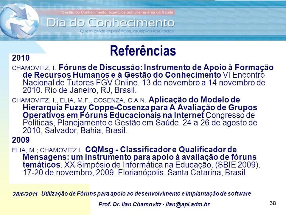 Referências 2010.