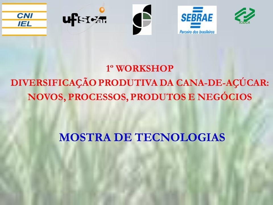 MOSTRA DE TECNOLOGIAS 1º WORKSHOP