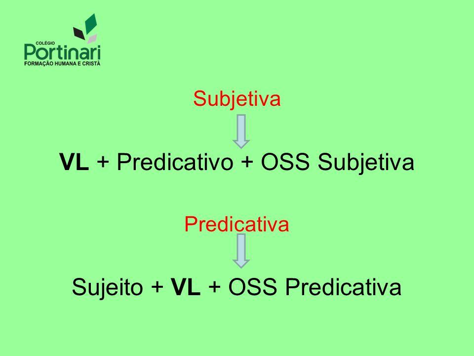 VL + Predicativo + OSS Subjetiva