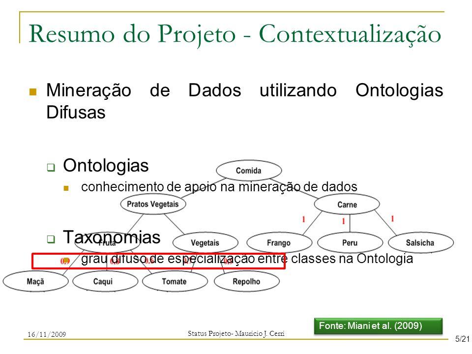 Resumo do Projeto - Contextualização