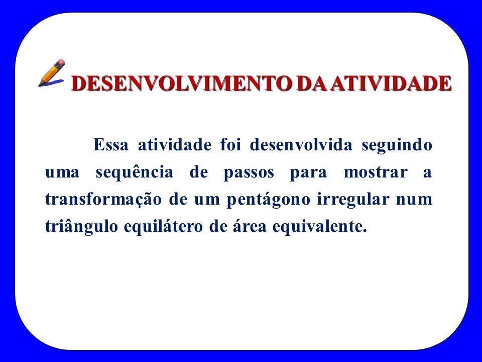DESENVOLVIMENTO DA ATIVIDADE