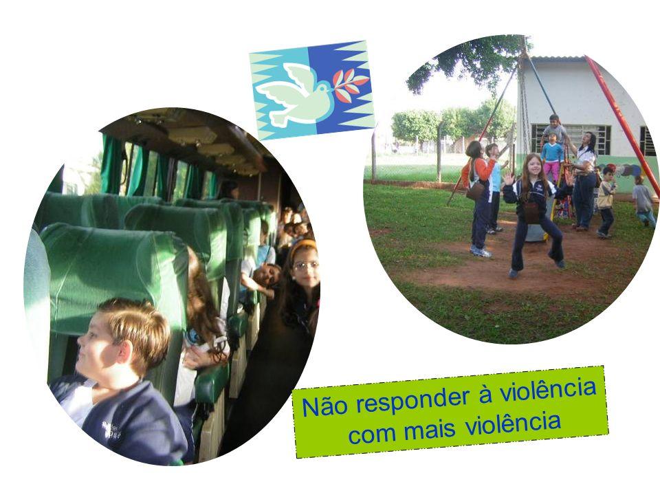Não responder à violência