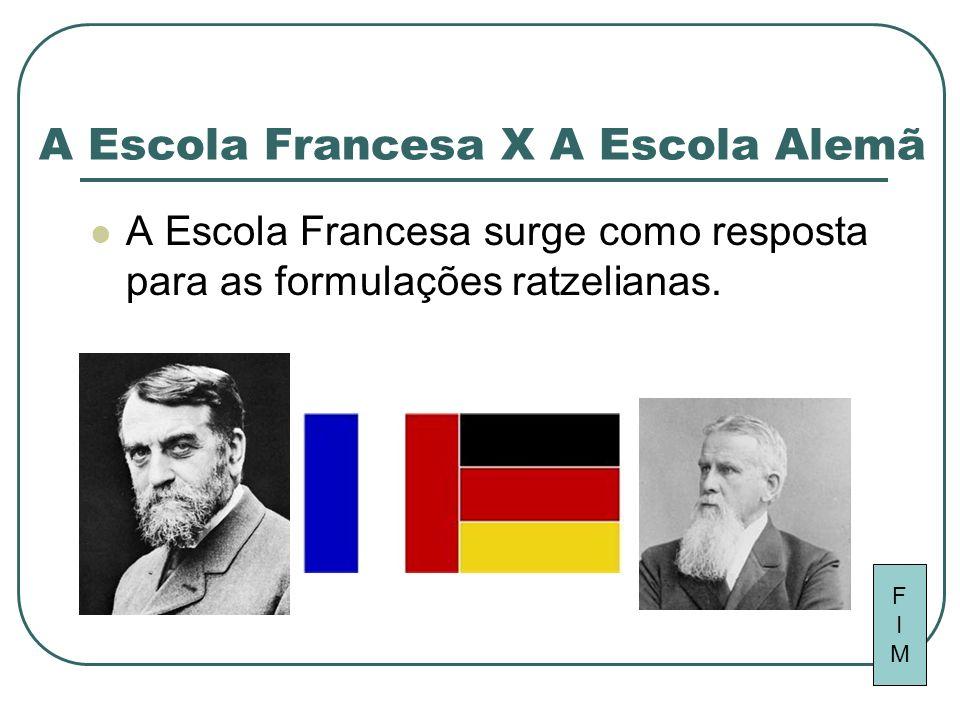 A Escola Francesa X A Escola Alemã