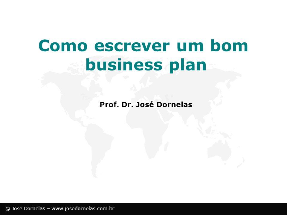 Como escrever um bom business plan
