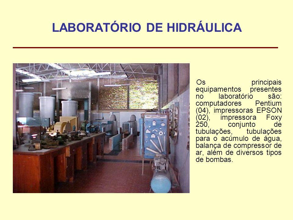 LABORATÓRIO DE HIDRÁULICA