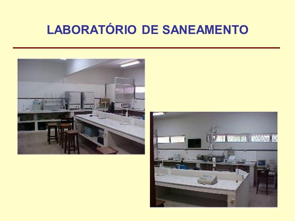 LABORATÓRIO DE SANEAMENTO