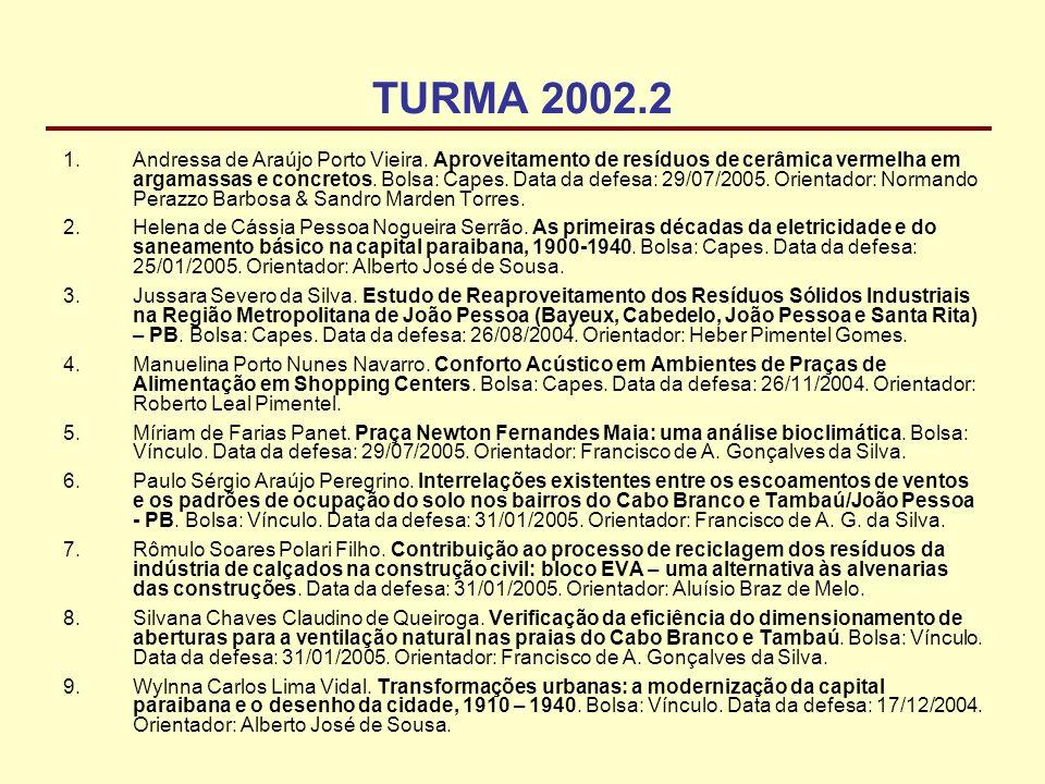 TURMA 2002.2