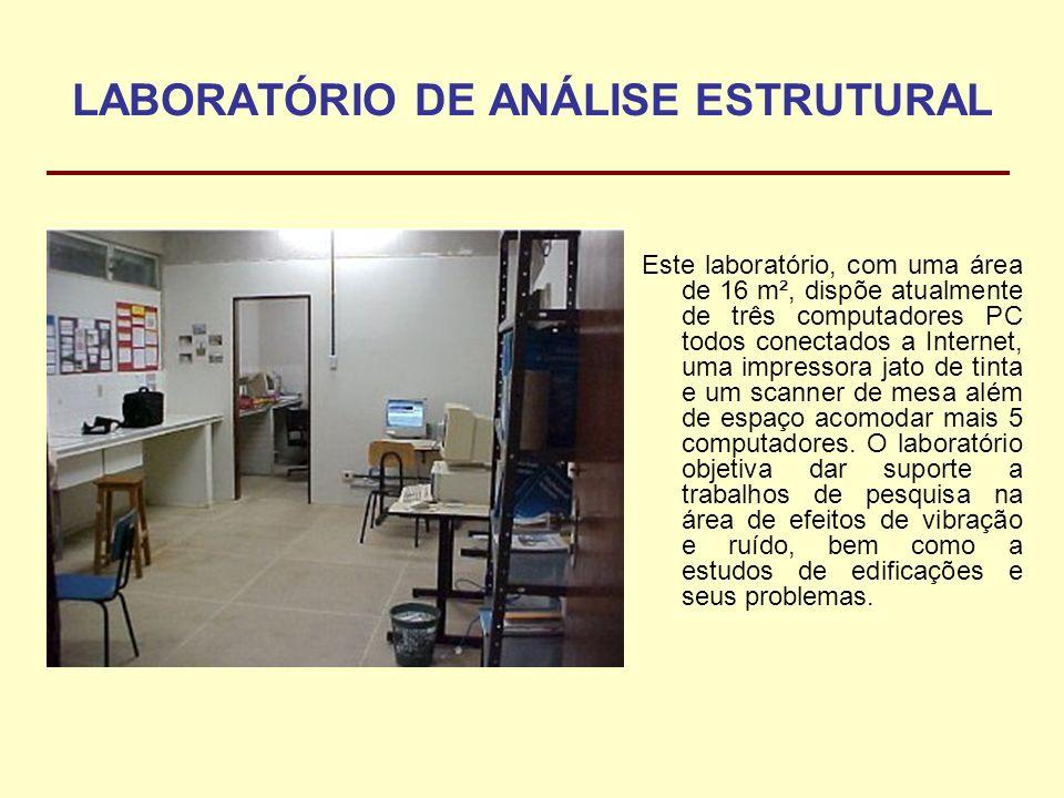 LABORATÓRIO DE ANÁLISE ESTRUTURAL
