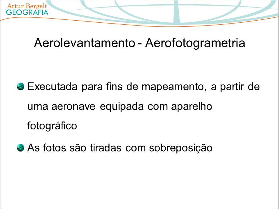Aerolevantamento - Aerofotogrametria
